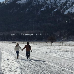 Strolling along, country roads with my baby ..... #Thanksgiving #idaho #travel